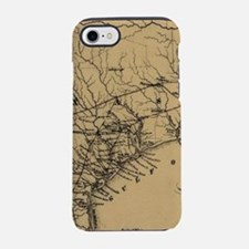 Vintage Map of Texas (1838) iPhone 7 Tough Case