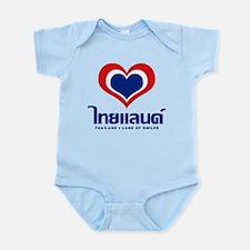 Heart (Love) Thailand Infant Bodysuit