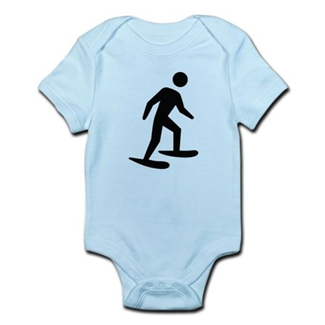 Snow Shoeing Image Infant Bodysuit