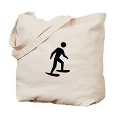 Snow Shoeing Image Tote Bag