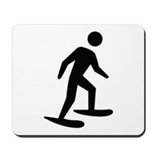 Snow Shoeing Image Mousepad
