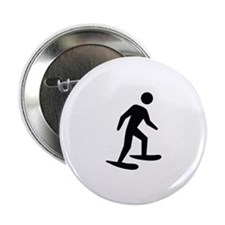 "Snow Shoeing Image 2.25"" Button (10 pack)"
