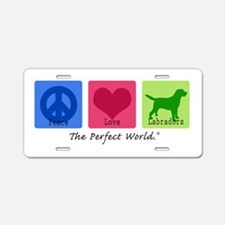 Peace Love Labs Aluminum License Plate