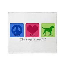 Peace Love Labs Throw Blanket