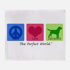 Peace Love Labs Throw Blanket