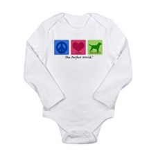 Peace Love Labs Long Sleeve Infant Bodysuit