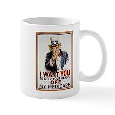Congress, Don't Touch Medicare Mug