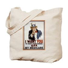 Congress, Don't Touch Medicare Tote Bag