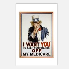 Congress, Don't Touch Medicare Postcards (Package