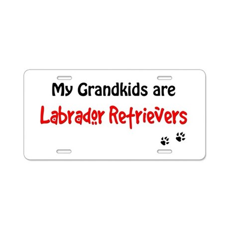 Grandkid Labs Aluminum License Plate