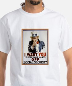 Don't Touch Social Security Shirt