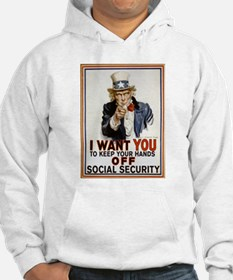 Don't Touch Social Security Hoodie
