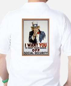 Don't Touch Social Security T-Shirt
