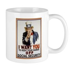 Don't Touch Social Security Mug