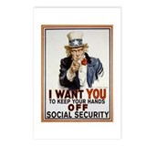 Medicaire and social security are not entitlements Postcards