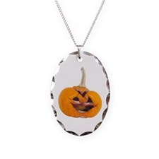 Rotten Jack-o-Lantern Necklace