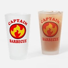 Captain Barbecue Pint Glass