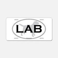 LAB II Aluminum License Plate