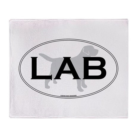 LAB II Throw Blanket