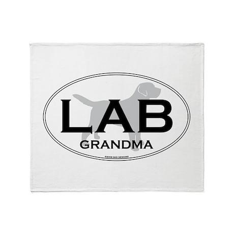 LAB GRANDMA II Throw Blanket