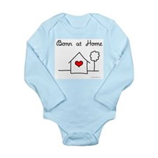 Born at Home Long Sleeve Infant Bodysuit