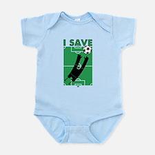 Soccer I Save Infant Bodysuit