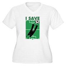Soccer I Save T-Shirt