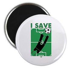 Soccer I Save Magnet
