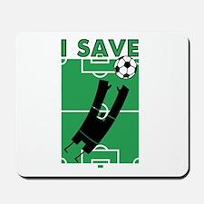 Soccer I Save Mousepad
