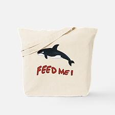 Whale - Feed Me! Tote Bag