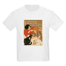 French Chocolate and Tea 1896 T-Shirt