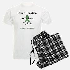 My Organ Donation Pajamas