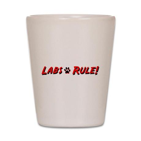 Labs Rule Shot Glass