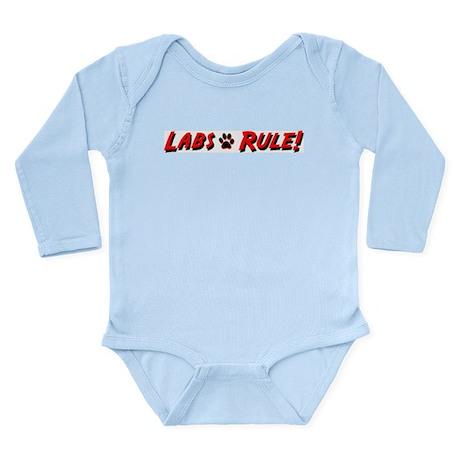 Labs Rule Long Sleeve Infant Bodysuit