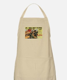 Comic Book Soldiers BBQ Apron