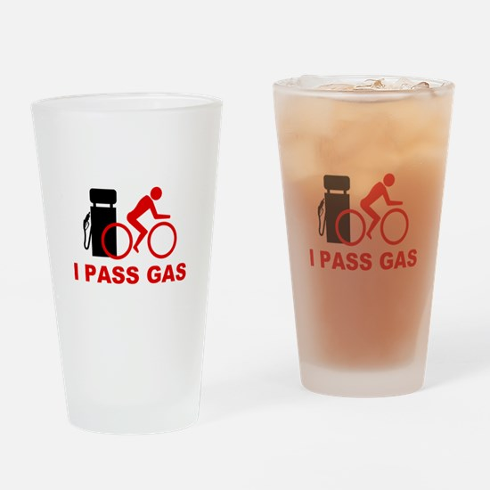 I PASS GAS bicyclist Pint Glass