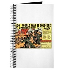Comic Book Soldiers Journal