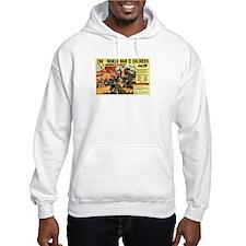 Comic Book Soldiers Hoodie