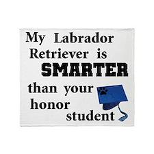 Graduation Lab Throw Blanket