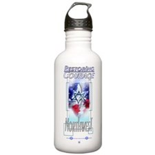 Unique Courage Water Bottle