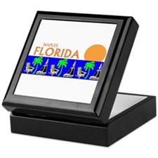 Cute Naples florida Keepsake Box