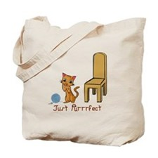 Just Purrrfect Tote Bag