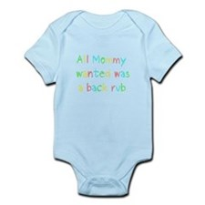 All Mommy Wanted Pastel Infant Bodysuit