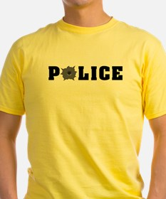 Police Bullet Hole T