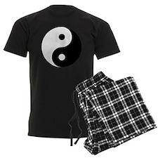 Yin And Yang Men's Dark Pajamas