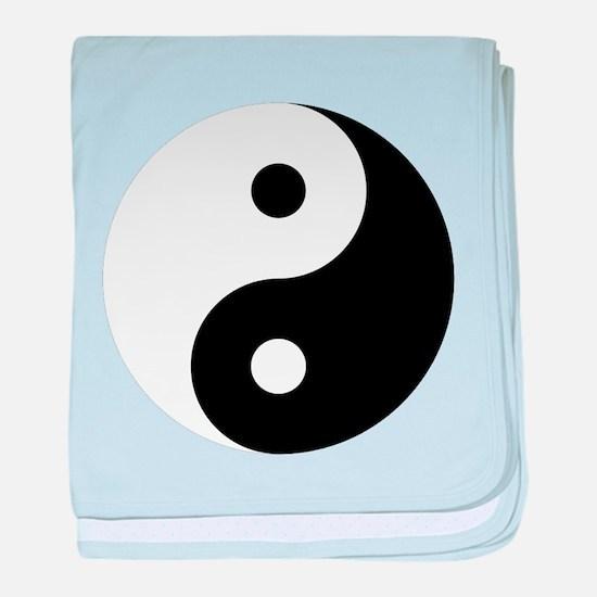 Yin And Yang Baby Blanket