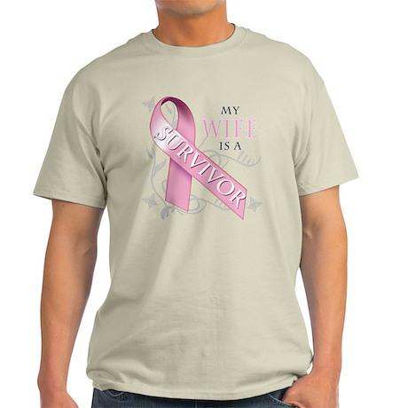 My Wife is a Survivor Light T-Shirt