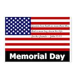 John 15:13 Memorial Day Postcards (Package of 8)