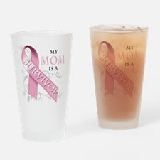 My Mom is a Survivor Pint Glass