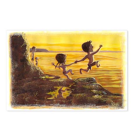 Daring Jump Postcards (Package of 8)
